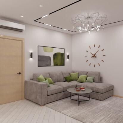 Дизайн квартиры для сдачи в аренду гостиная цена
