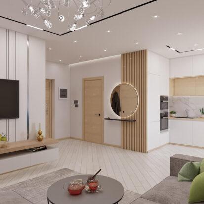 Дизайн квартиры для сдачи в аренду гостиная