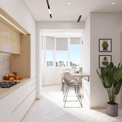 Дизайн квартиры для сдачи в аренду интерьер кухни
