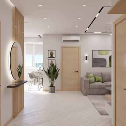 Дизайн квартиры для сдачи в аренду прихожая проект