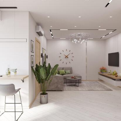 Дизайн квартиры для сдачи в аренду проект кухни студии