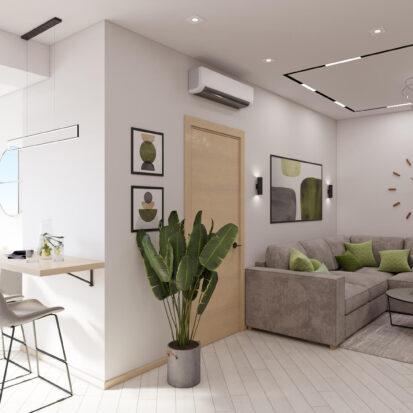 Дизайн квартиры для сдачи в аренду проект
