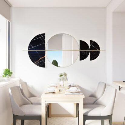 Дизайн квартиры для сдачи в аренду столовая