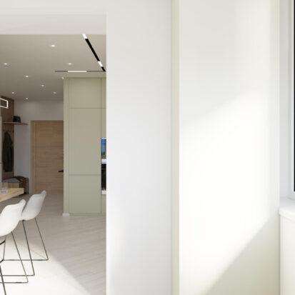 Дизайн квартиры под сдачу балкон проект