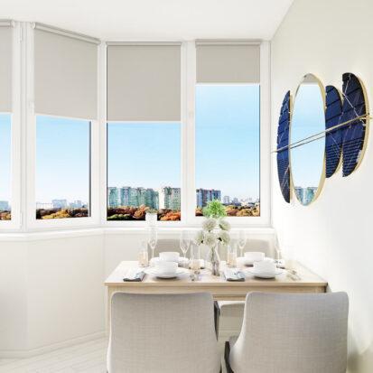 Дизайн квартиры под сдачу балкон