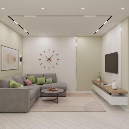 Дизайн квартиры под сдачу интерьер гостиной