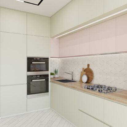 Дизайн квартиры под сдачу интерьер кухни студии