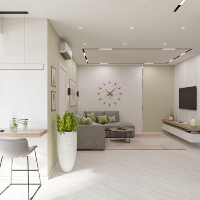 Дизайн квартиры под сдачу кухня студия
