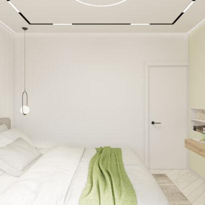 Дизайн квартиры под сдачу проект спальни