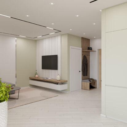Дизайн квартиры под сдачу ремонт кухни - студии