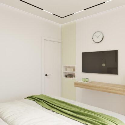 Дизайн квартиры под сдачу спальня цена