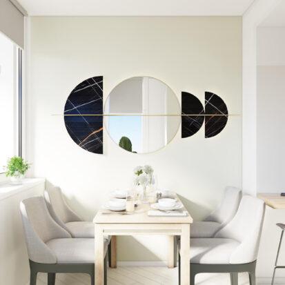 Дизайн квартиры под сдачу столовая