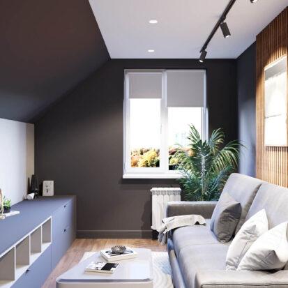 Дизайн-проект дома Балабино гостевая