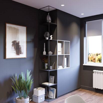 Дизайн-проект дома Балабино кабинет