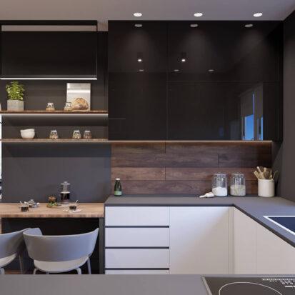 Дизайн-проект дома Балабино кухня