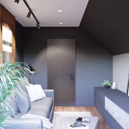 Заказать дизайн дома Балабино гостевая комната