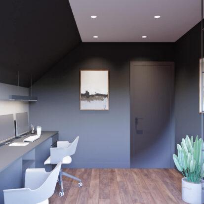 Заказать дизайн дома Балабино кабинет