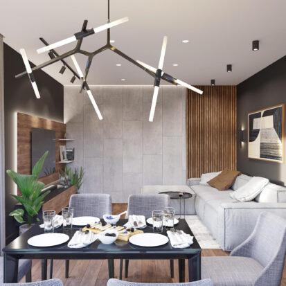 Заказать дизайн-проект дома Балабино