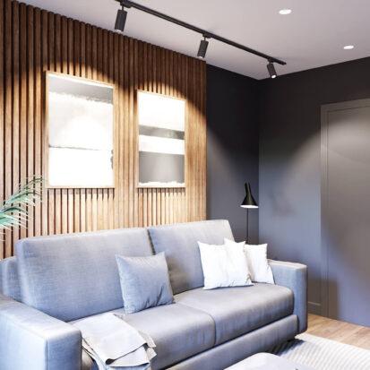 Элитный дизайн дома Балабино гостевая комната