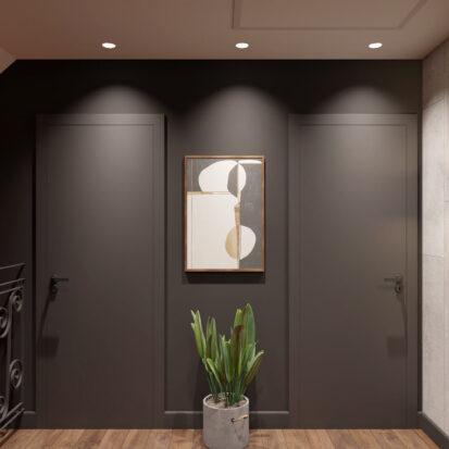 Элитный дизайн дома Балабино лестница