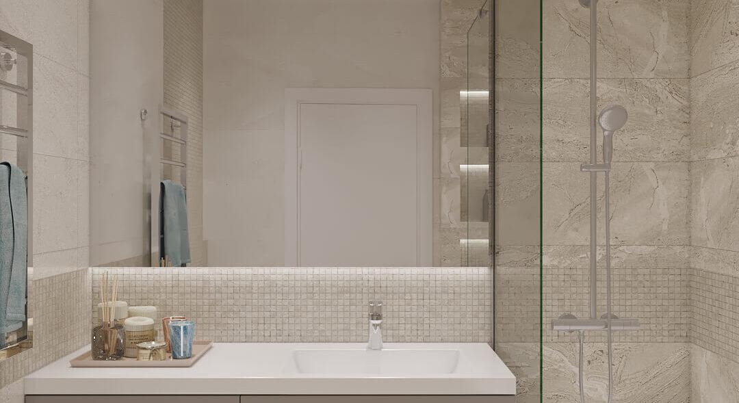 Элитный дизайн квартиры под сдачу дизайн проект ванная