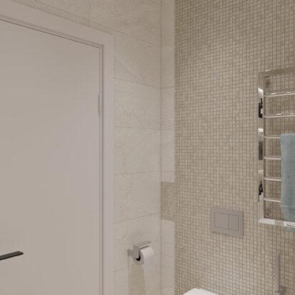 Элитный дизайн квартиры под сдачу проект ванной