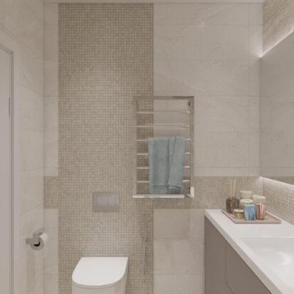 Элитный дизайн квартиры под сдачу ремонт ванной