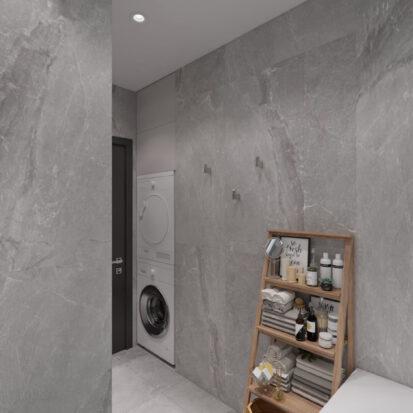 Дизайн двухкомнатной квартиры в новостройке ванная заказать