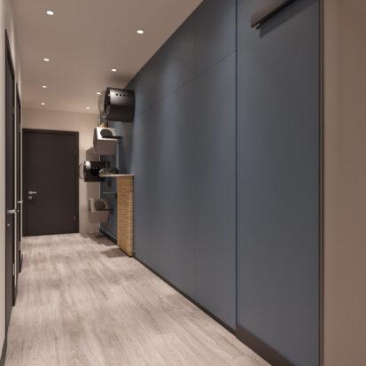 Дизайн двухкомнатной квартиры в новостройке прихожая цена