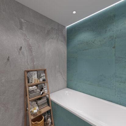 Дизайн двухкомнатной квартиры в новостройке проект ванной комнаты