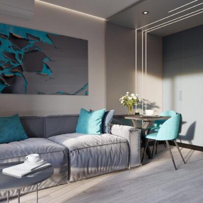 Дизайн двухкомнатной квартиры в новостройке цена