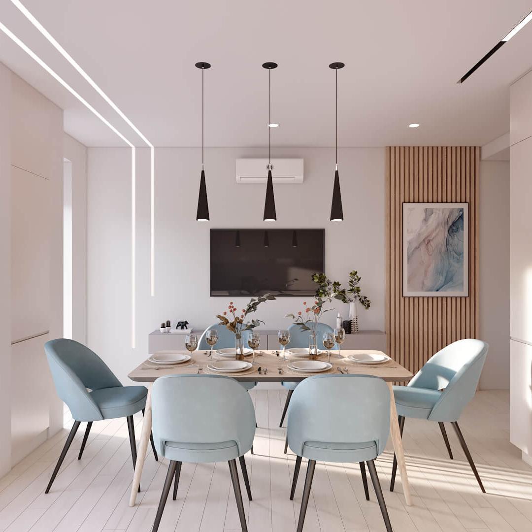 Дизайн квартиры в Comfort city, Dofamine