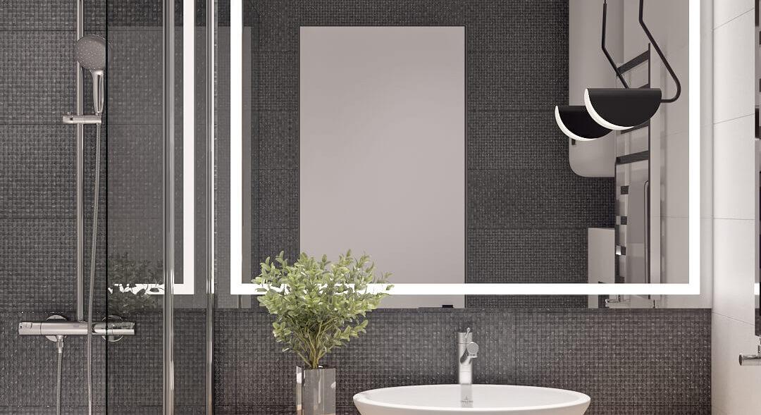 Дизайн квартиры в comfort city ванная