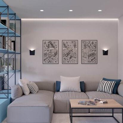 Дизайн квартиры в comfort city детская