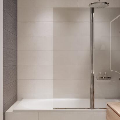 Дизайн квартиры в comfort city душевая