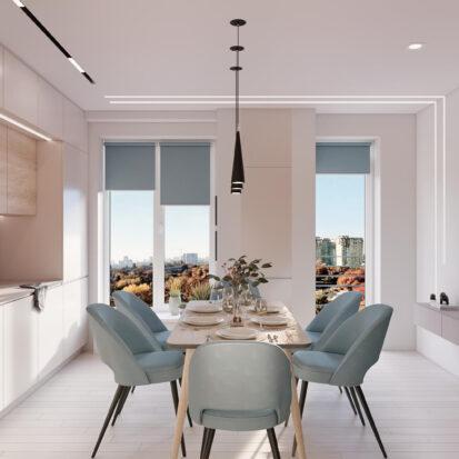 Дизайн квартиры в comfort city заказать