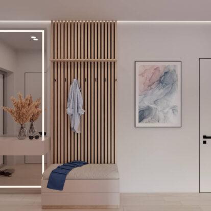 Дизайн квартиры в comfort city прихожая заказать