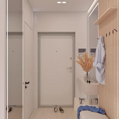 Дизайн квартиры в comfort city прихожая