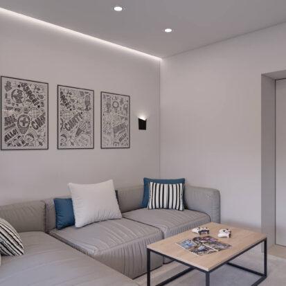 Дизайн квартиры в comfort city ремонт детской