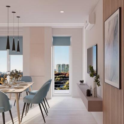 Дизайн квартиры в comfort city цена