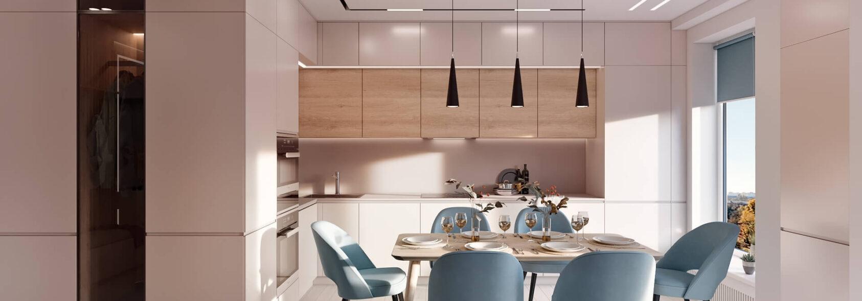 Дизайн квартиры в comfort city