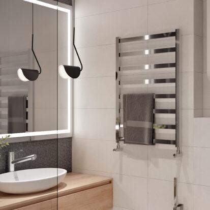 Дизайн проект квартиры в comfort city ванная