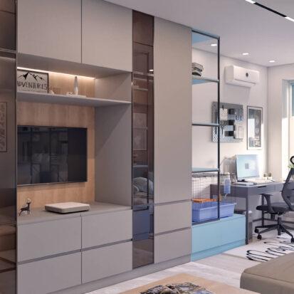 Заказать Дизайн квартиры в comfort city детская комната
