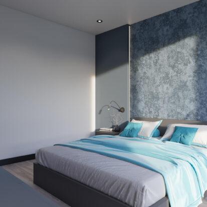 Элитный дизайн двухкомнатной квартиры в новостройке