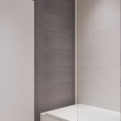 Элитный дизайн квартиры в comfort city туалет