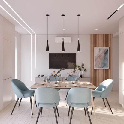 Элитный дизайн квартиры в comfort city