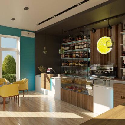 Дизайн кафе Запорожье
