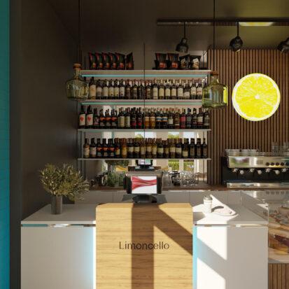 Дизайн кафе зал