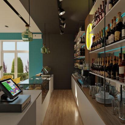 Заказать дизайн кафе