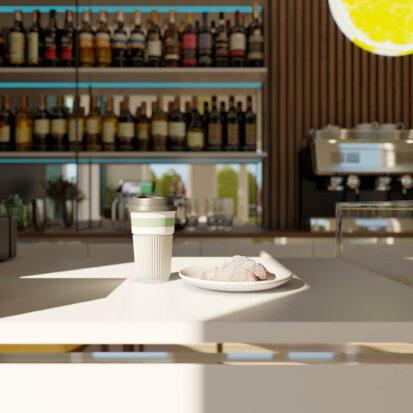 Элитный дизайн кафе
